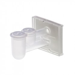 M967-20FW - Double Sample Chamber with White Filter Paper & Cap