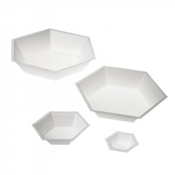 D252 Antistatic hexagonal weighing dishes