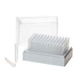 T105 BioTube™ storage rack with 2 ml tubes